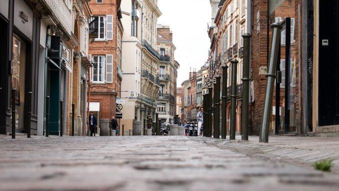 Quartier touristique centre ville Toulouse
