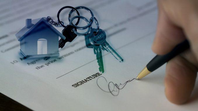 Signature d'une acquisition immobilère
